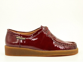 CALOFASHION CHRISTY:CUIR VERNI/BORDEAUX/NEW/CUIR/GOMME