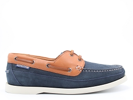 CARL PERF BOATING:NUBUCK/MARINE/NEW/CUIR/GOMME