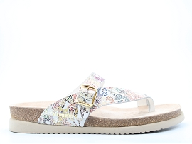 DAMARA THRILL HELEN:CUIR/MULTI/NEW/NON DOUBLE/GOMME