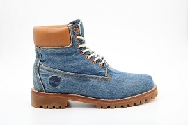 MADRID SHINY PYHTON HERITAGE 6 BOOT:COTON/GRIS/NEW/CUIR +AUTRES MATERIAUX/GOMME