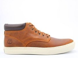 LEONIA ADVENTURE 2.0 CHUKKA:CUIR GRAS/TAN/CARRY OVER/CUIR +AUTRES MATERIAUX/GOMME