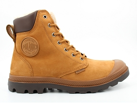 SEVENTY STREET PAMPA SPORT WPS WATERPROOF H:NUBUCK/CHOCOLAT/SUIVI HIVER/FOURREE/GOMME