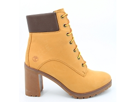 BAGGY LP MTL ALLINGTON 6 LACE UP BOOT:NUBUCK/JAUNE/CARRY OVER/CUIR +AUTRES MATERIAUX/GOMME