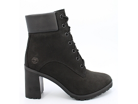 BOOT W T ALLINGTON 6 LACE UP BOOT:NUBUCK/NOIR/CARRY OVER/CUIR +AUTRES MATERIAUX/GOMME