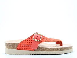 ODALYS HELEN MIX:NUBUCK/ORANGE/NEW/NON DOUBLE/GOMME