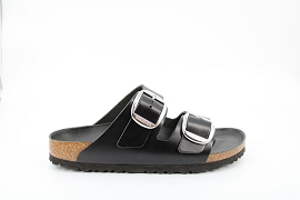 CHRISTY ARIZONA BB:CUIR/NOIR/NEW/CUIR/GOMME