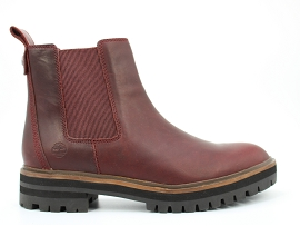 HELISA LONDON SQUARE CHELSEA:CUIR/BORDEAUX/CARRY OVER/CUIR +AUTRES MATERIAUX/GOMME