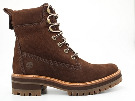 SPARK CLAY COURMAYEUR VALLEY YELLOW BOOT:NUBUCK/MARRON/CARRY OVER/CUIR +AUTRES MATERIAUX/GOMME
