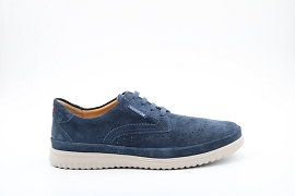 ANDREAS THIBAULT:NUBUCK/BLEU/NEW/NON DOUBLE/GOMME
