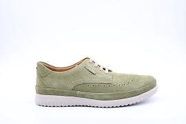CARIBOU WOOL NM1481 THIBAULT:NUBUCK/VERT/NEW/NON DOUBLE/GOMME