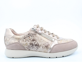 2730 COTU PEU MONIA:NUBUCK/TAUPE/NEW/CUIR/GOMME