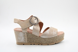 DAMARA THRILL PATIS:NUBUCK/BEIGE/NEW/CUIR/GOMME