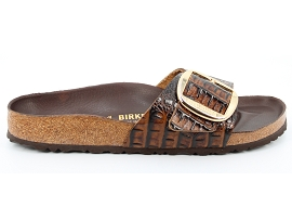 PANAMA 03 MADRID BB SNAKE:CUIR IMPRESSION REPTILE/MARRON/NEW/CUIR/GOMME