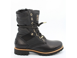 VALORIA ROUTE BOOT IGLOO TRAVELLING:CUIR/NOIR/NEW/FOURREE/GOMME