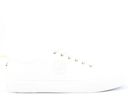 MADRID  SNAKE STUDIO 02:NUBUCK/BLANC/NEW/CUIR +AUTRES MATERIAUX/GOMME