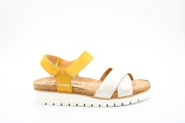 TORCOL 69 TAMIA:NUBUCK/JAUNE/NEW/CUIR/GOMME