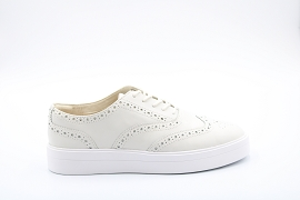 CHAMONIX VALLEY WP AUTHENTIC HERO BROGUE:CUIR/BLANC/NEW/CUIR +AUTRES MATERIAUX/GOMME