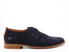 PEPPO ERWIN 5:SUEDE/BLEU/NEW/CUIR +AUTRES MATERIAUX/ELASTHOMERE