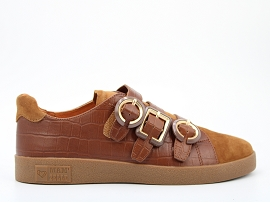 ADVENTURE 2.0 CHUKKA BONGO:CUIR IMPRESSION REPTILE/MARRON/NEW/CUIR/GOMME