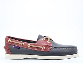 OAK BLUFFS STRAP Y 70001B0:CUIR/BLEU/CONDITIONNEL/CUIR/GOMME