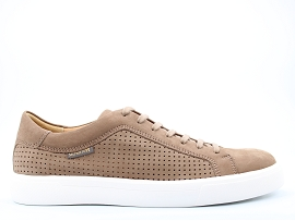 MADRID SHINY PYHTON CARL PERF:NUBUCK/TAUPE/NEW/CUIR/GOMME