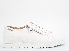 HAWAI JUNE:CUIR/BLANC/NEW/CUIR/GOMME