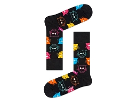 CHAUSSETTES CAT<br>COTON MULTI NEW
