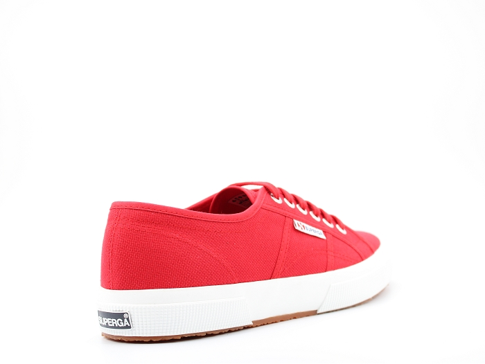 Superga sneakers 2750 cot rouge1297903_4