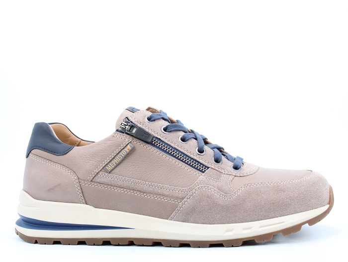 Mephisto sneakers bradley taupe
