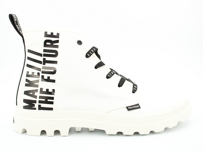 Palladium botte et bottine hi future blanc