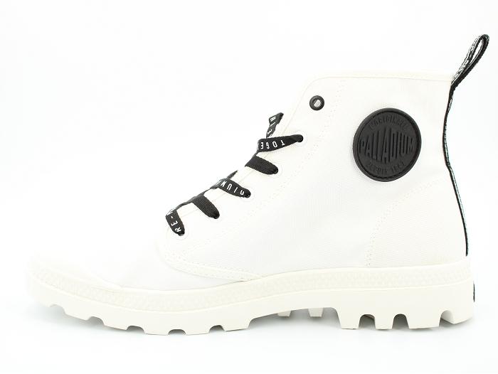 Palladium botte et bottine hi future blanc2258202_3