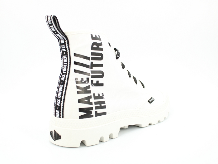 Palladium botte et bottine hi future blanc2258202_4
